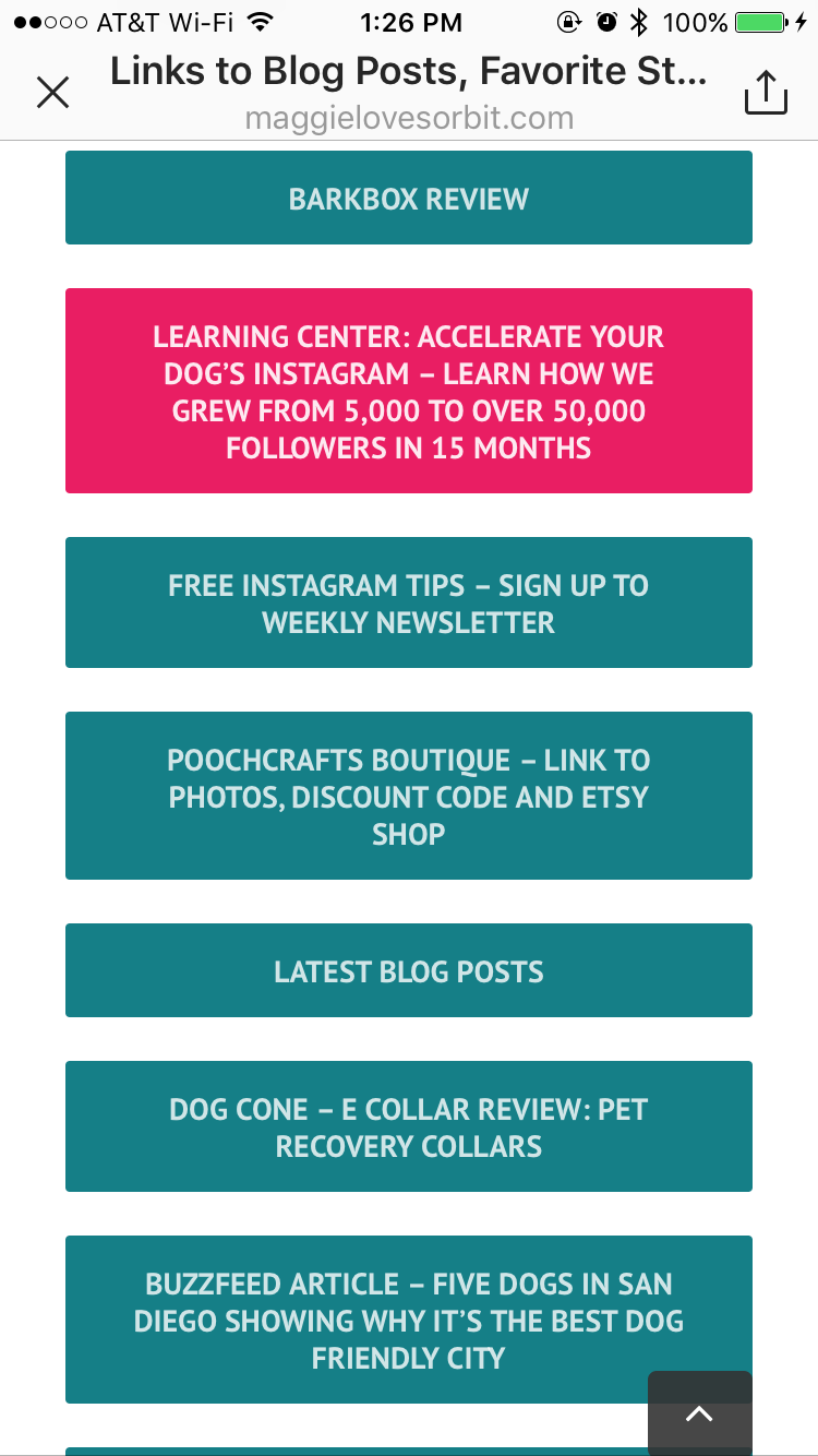 How to add multiple links through your Instagram Bio