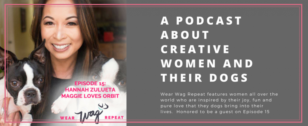 Hannah Zulueta – debuts on her first Podcast as a guest of Wear Wag Repeat