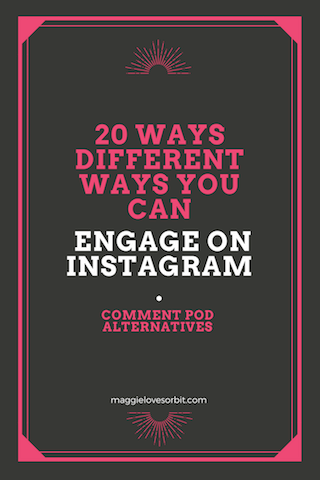 20 ways to increase engagement on instagram