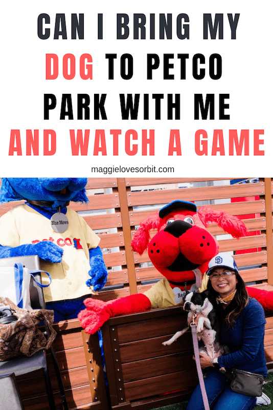 is petco park dog friendly