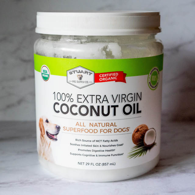 100% extra virgin stuart supply coconut oil for dog treats