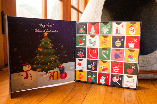 Advent Calendar You Can Fill For Dogs